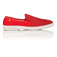 Rivieras Shoes Men's Classic 20 Degree Slip On Red