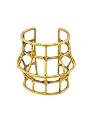Anndra Neen 'Barrel Cuff' Bracelet Yellow And Orange