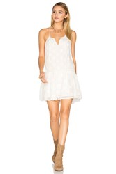 Amuse Society Morrisyn Dress White