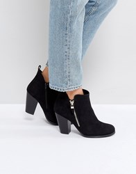 Call It Spring Kokes Black Heeled Ankle Boots Black