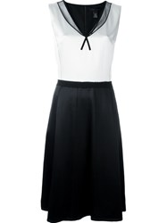 Marc Jacobs Colour Block A Line Dress White