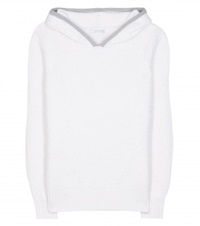 Callens Alpaca And Wool Blend Hoodie White