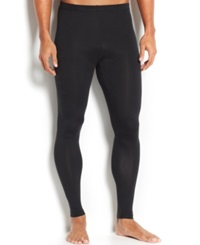 Weatherproof 32 Degrees Cool Athletic Men's Base Layer Pants Black