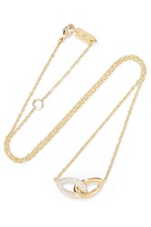 Ippolita Cherish Bond 18 Karat Gold Diamond Necklace