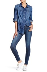 Big Star Alex Mid Rise Skinny Jean Blue
