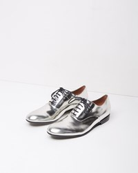Marni Metallic Oxford Silver