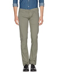 2W2m Casual Pants Military Green