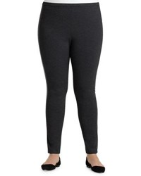Lafayette New York 148 Plus Seamed Riding Leggings Black