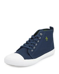 Penguin Sneakerish Canvas High Top Sneaker Dress Blues