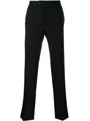 Golden Goose Logo Patch Skinny Trousers Black