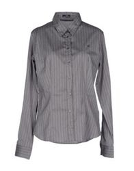 Brooksfield Shirts Grey