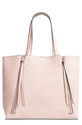 Chelsea 28 Chelsea28 Leigh Faux Leather Tote And Zip Pouch Pink Pink Hero