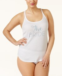 Betsey Johnson Plus Size Bridal Racerback Tank 7631108X
