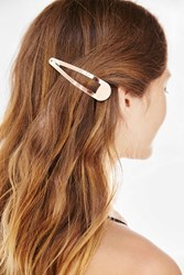 Urban Outfitters Oversized Flip Hair Clip Blush