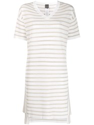 Lorena Antoniazzi T Shirt Dress White