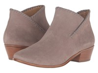 Jack Rogers Sadie Suede Light Grey Women's Boots Gray