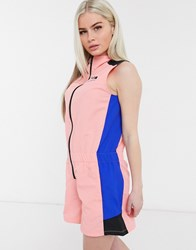 The North Face Extreme Playsuit In Pink