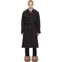 Vetements Black New Classic Trench Coat