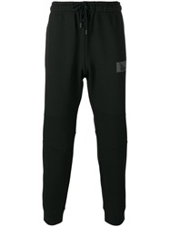 Fendi Bag Bugs Patch Track Pants Black