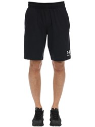 Under Armour Sportstyle Cotton Sweat Shorts Black