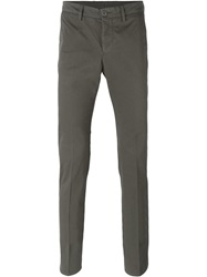 Aspesi Slim Chino Trousers Grey
