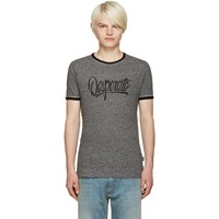 Marc Jacobs Grey 'Desperate' T Shirt