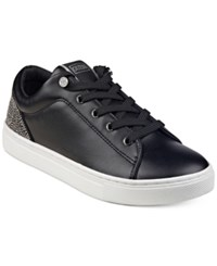 Guess Women's Jollie Lace Up Sneakers Women's Shoes Black