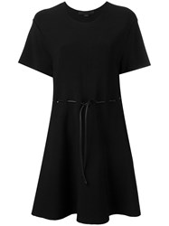 Alexander Wang Tie Waist Dress Black