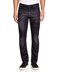 Blank Slim Fit Jeans In Black Rhino
