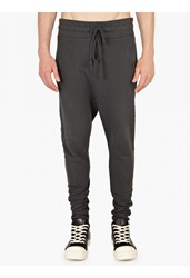 Thom Krom Green Cotton Jersey Sweatpants