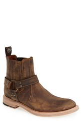 Men's Sendra Boots 'Blake' Harness Boot Tan Mad Dog