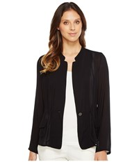 Nic Zoe Femmer Utility Jacket Black Onyx Women's Coat