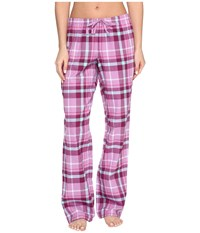 Life Is Good Classic Sleep Pants Dusty Orchid Women's Pajama White