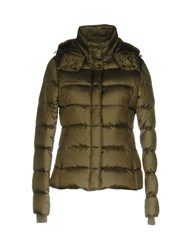 Jan Mayen Down Jackets Military Green