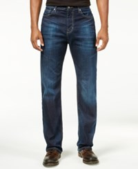 Calvin Klein Men's Relaxed Fit Deep Water Jeans