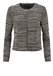 Vero Moda Vmstructure Blazer Medium Grey Melange Gold Mottled Grey