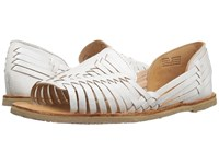 Sbicca Jared White Flat Shoes