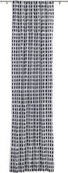 Cb2 Korben Plaid Curtain Panel 48 X84