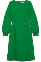 Paul And Joe Voyage Belted Twill Dress Green