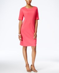 Karen Scott Petite T Shirt Dress Only At Macy's Pink Twist