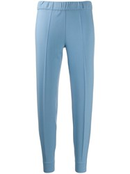 D.Exterior Slim Fit Tailored Trousers Blue