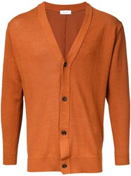 En Route Button Up Cardigan Brown