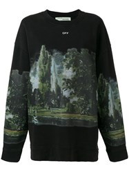 Off White 'Cuntryside' Sweater Women Cotton S Black