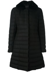Moncler Gamme Rouge 'Anis' Coat Black