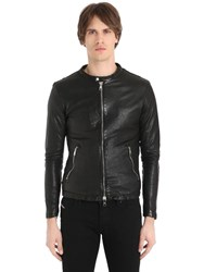 Giorgio Brato Washed Nappa Leather Jacket