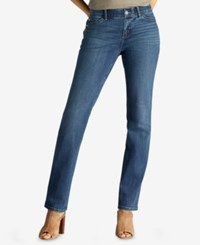 Lee Platinum Petite Total Freedom Straight Leg Jeans Rayne