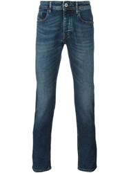 Diesel Black Gold Classic Straight Leg Jeans Blue