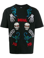 Ktz Hell Print T Shirt Black