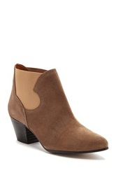 Sixty Seven Julie Heeled Ankle Bootie Brown