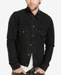 Denim And Supply Ralph Lauren Men's Trucker Jacket Black